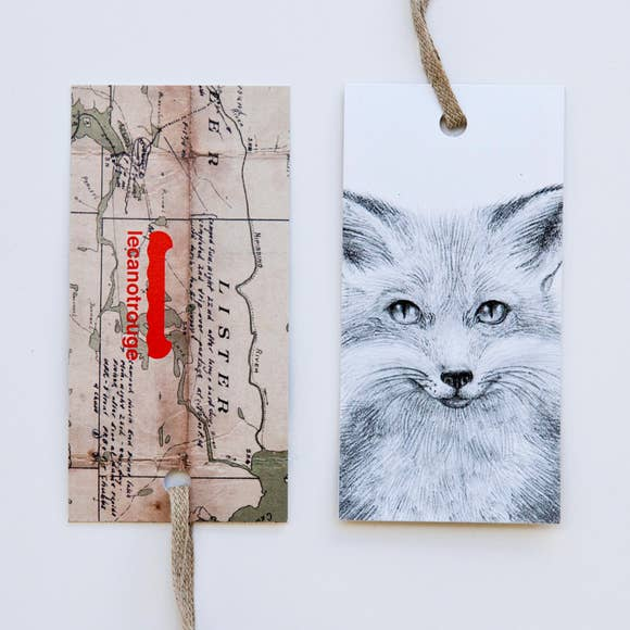 lecanotrouge: Quinn Bancroft Red Fox Gift Card