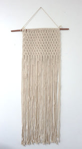 Macrame Wall Hanging, 40 inches long
