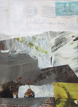 Load image into Gallery viewer, Michelle Trahan Carson: Mail Landscape Series No.4, original collage art