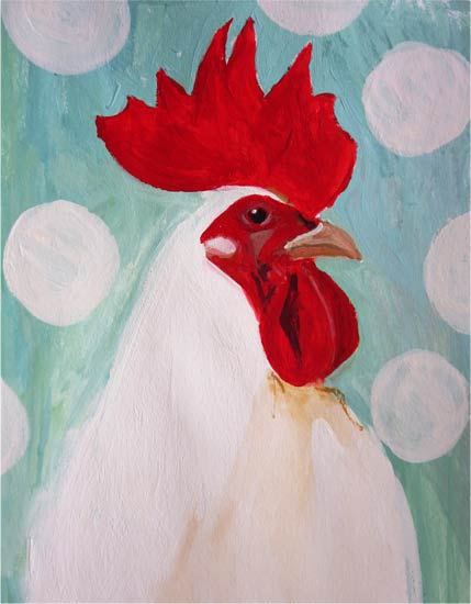 Art Print: No 65. Rooster