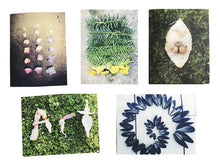 Load image into Gallery viewer, Set of 5 Ephemeral Land Art, notecard set