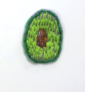 Sewn Patches: Avocado