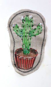 Sewn Patches: Cactus