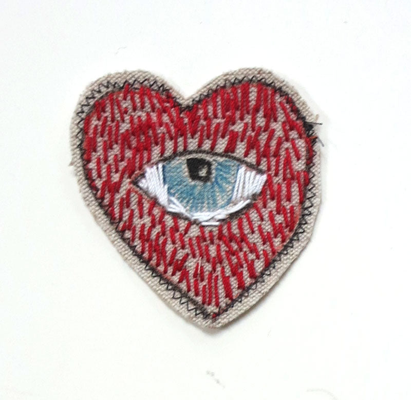 Sewn Patches: Heart Inner Eye