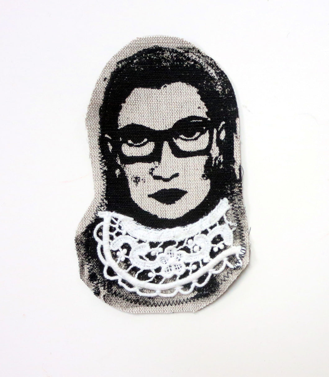 Sewn Patches: RBG