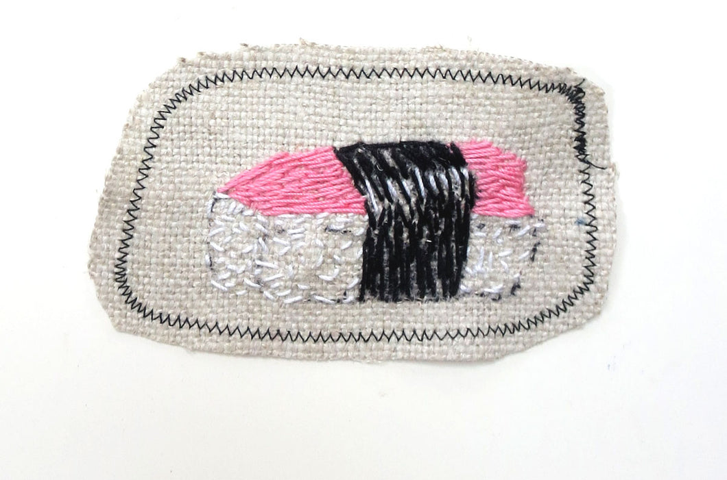 Sewn Patches: Sushi