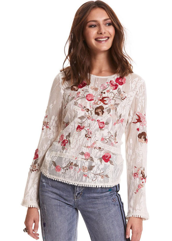 Odd Molly Misty magic bluse - creme - size S