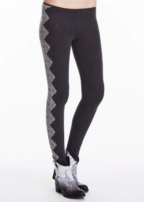Odd Molly Airbag leggings - grey - size M