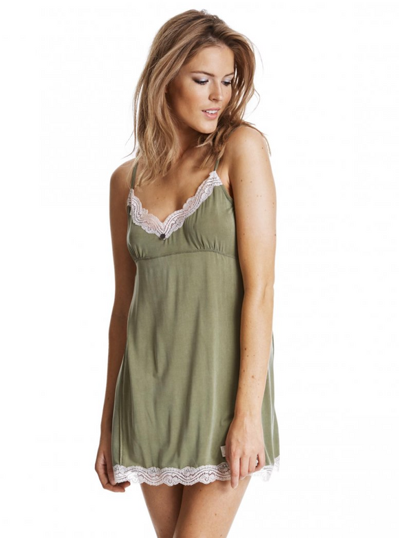 Odd Molly Love Struck slip dress - military - size S