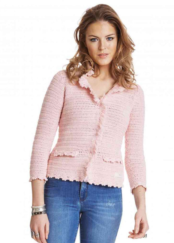 Odd Molly Shelley cardigan - rose - size M