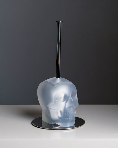Toilet Brush CRANIUM Clear