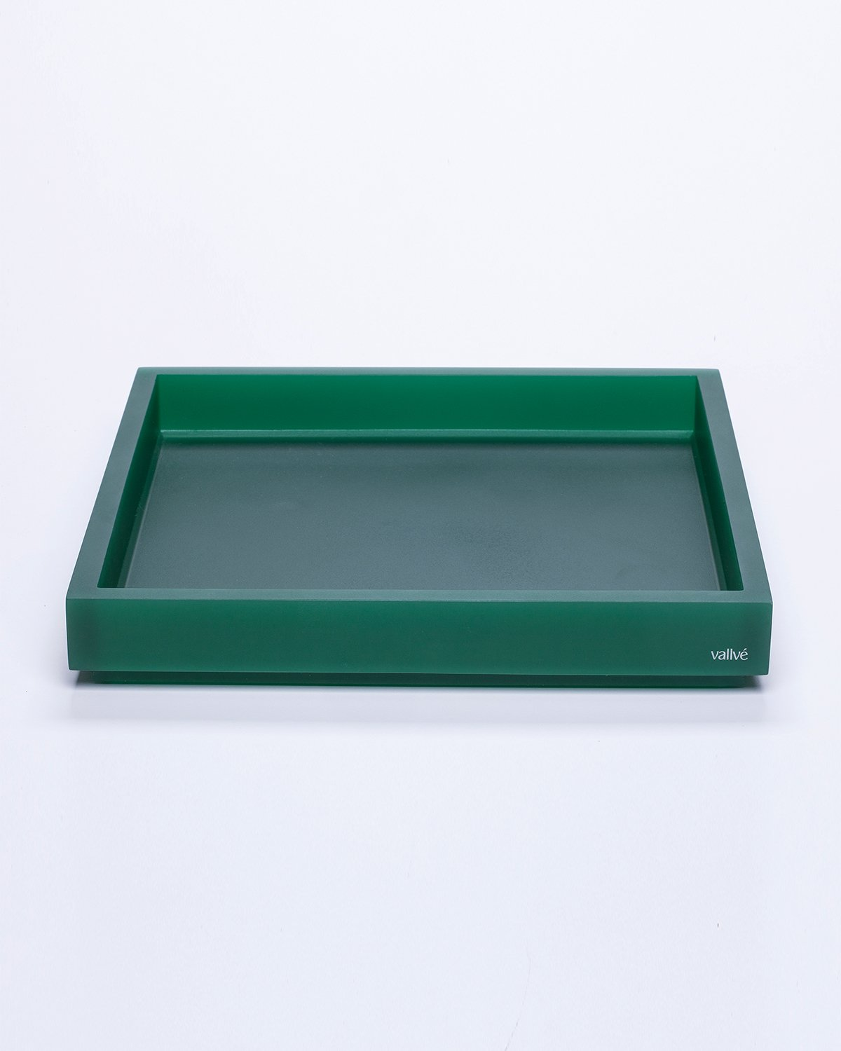 Square Tray METRO Emerald Green