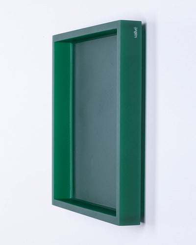 VallvéSquare Tray METRO Emerald Green