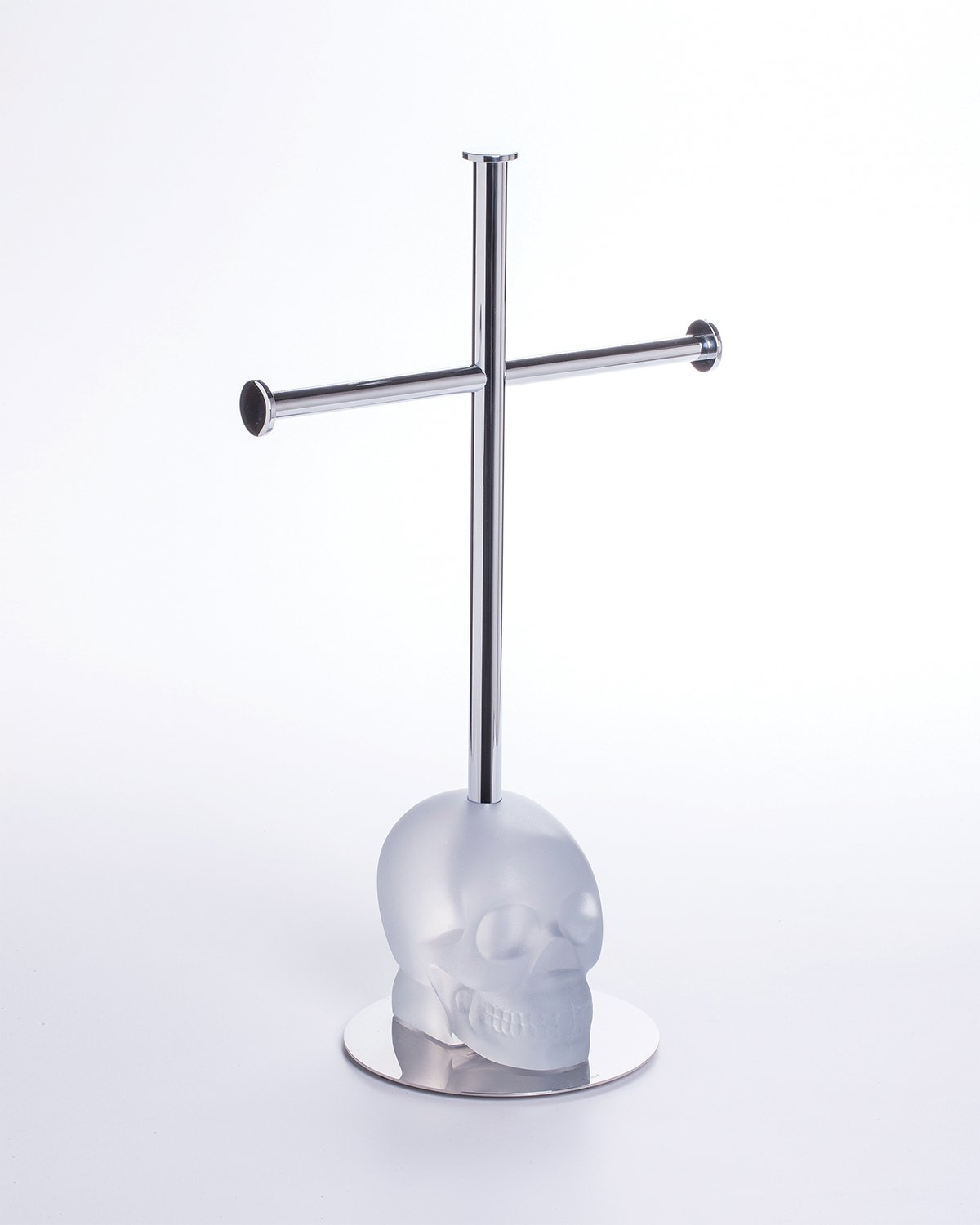 Towel Rack CRANIUM Clear