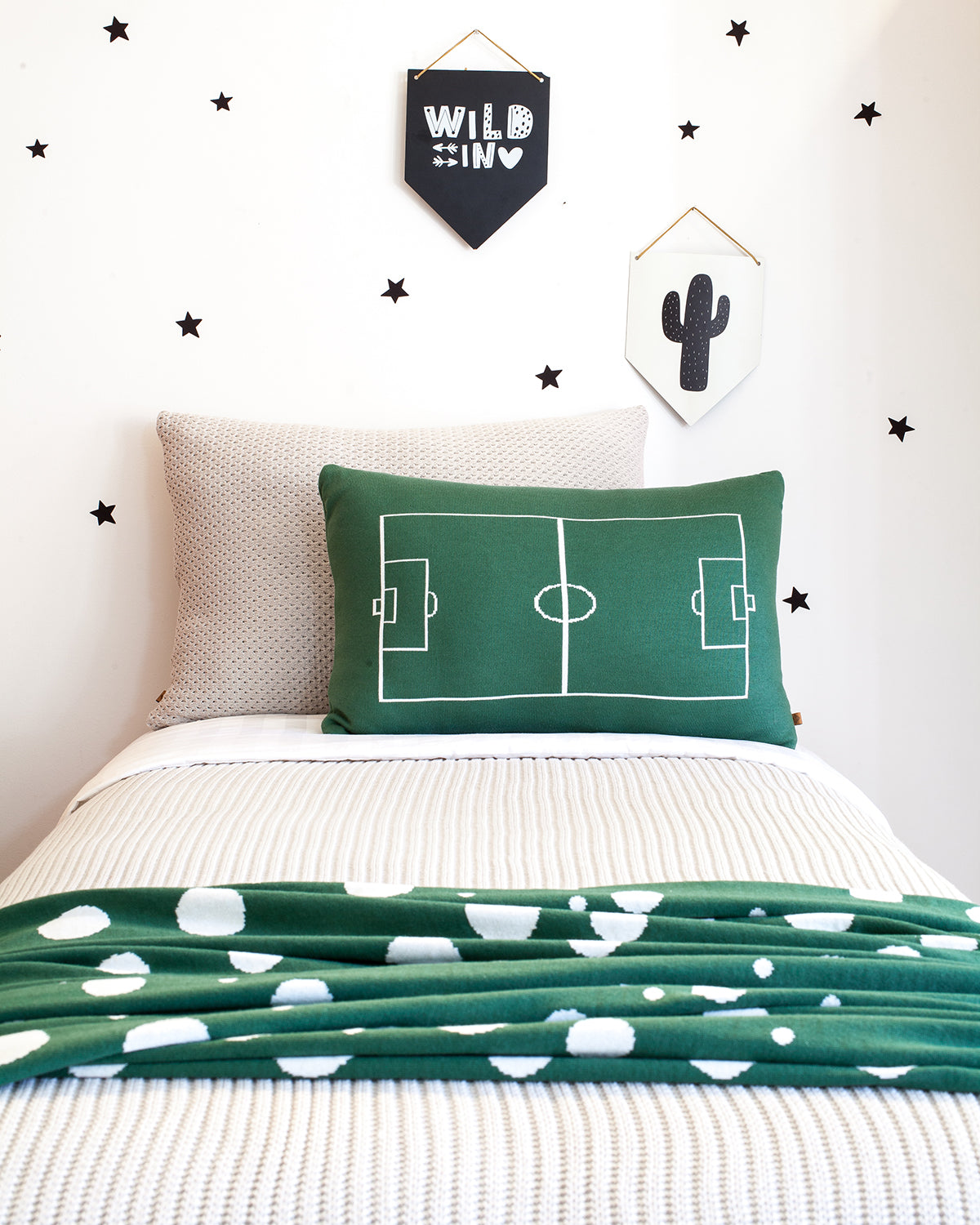 Rian TricotCushion SOCCER FIELD
