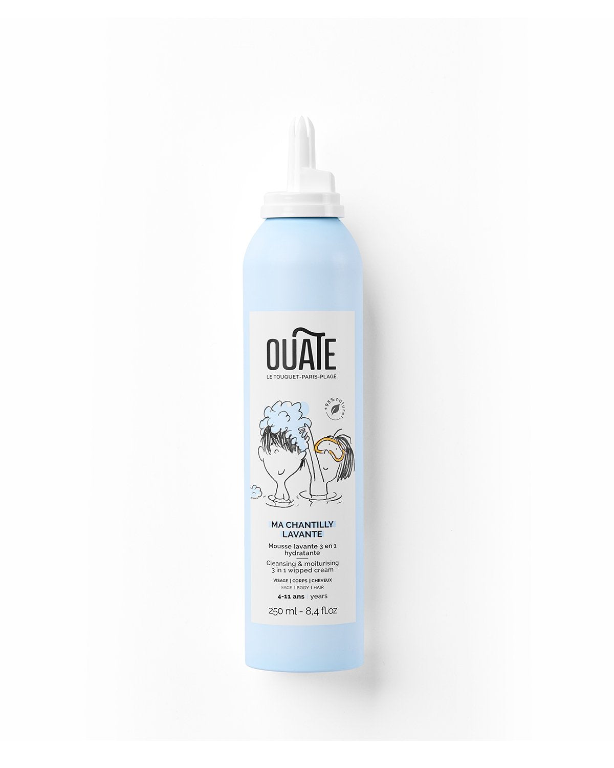 OUATE Face MY CLEANSING WHIPPED CREAM Unisex (quantity: 2)