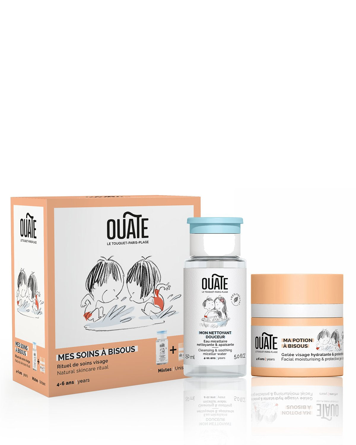 OUATE Duo Set MY KISSABLE SKINCARE ROUTINE Unisex (ages 4-6)
