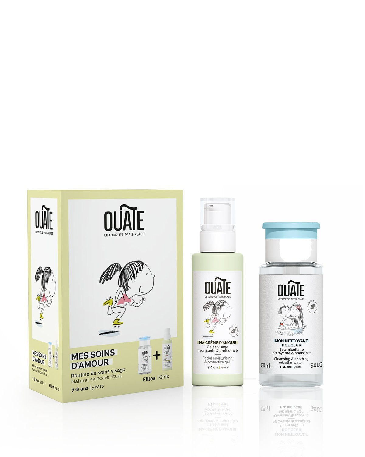 OUATE Duo Set MY LOVABLE SKINCARE ROUTINE Girls (ages 7-8)