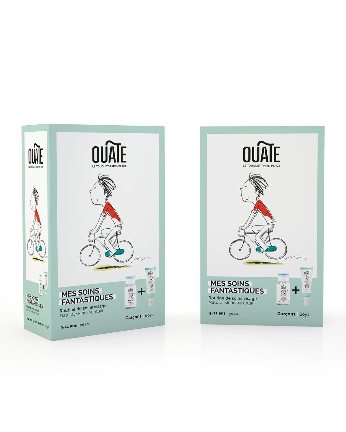 OUATE Duo Set MY FANTASTIC SKINCARE ROUTINE Boys (ages 9-11)