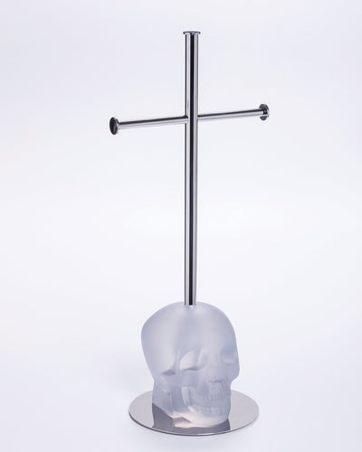 Toilet Paper Holder CRANIUM Clear