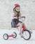 Ride-On VINTAGE RED TRIKE