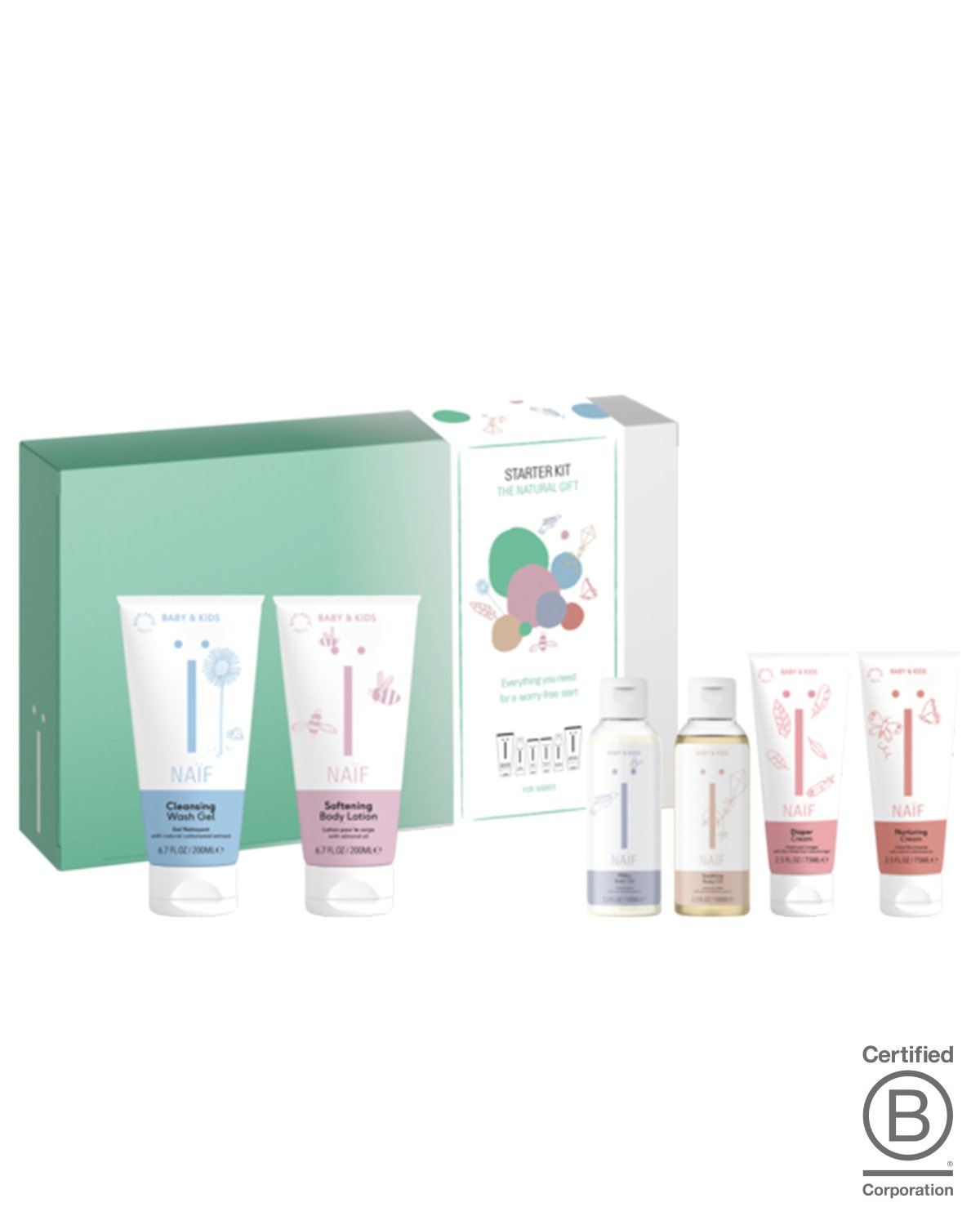 Naif Skincare Set THE STARTER KIT