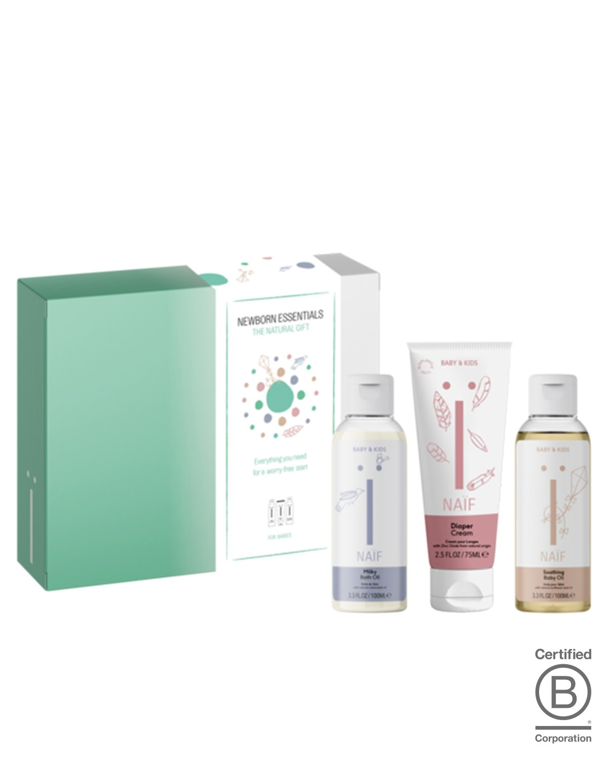 Naif Skincare Set THE NEWBORN ESSENTIALS