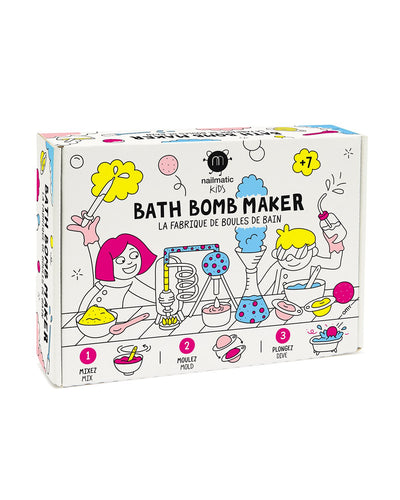 nailmatic Kids Bath Bomb DIY MAKER KIT