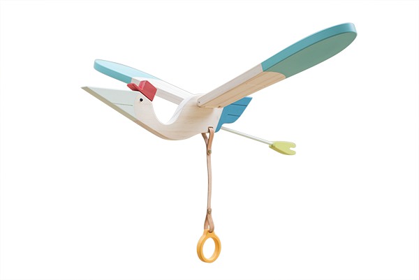 Eguchi Toys Mobile BIRD - Medium