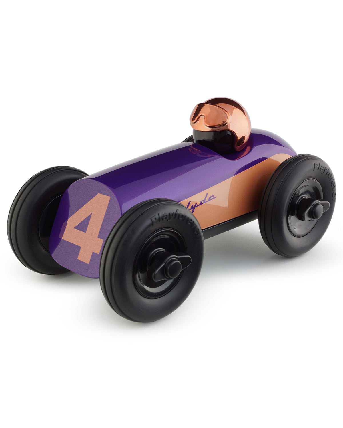 Playforever Car MIDI CLYDE Purple w/ Copper Helmet