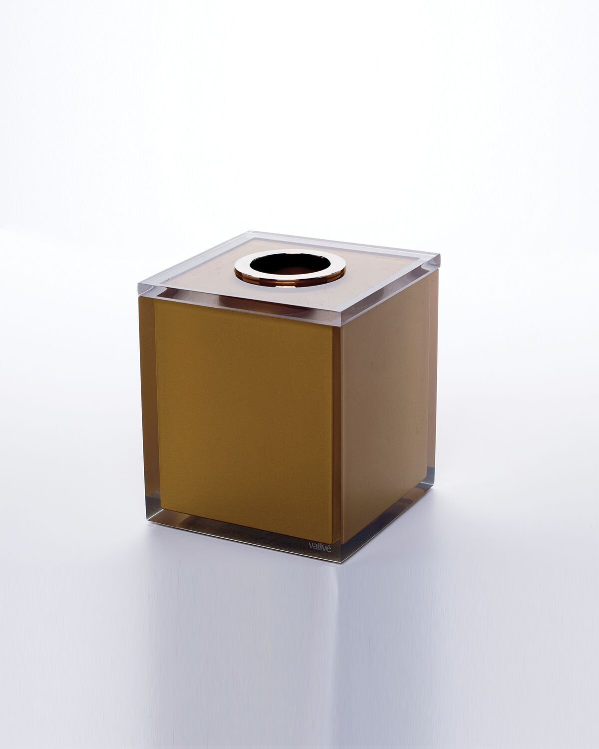 Tissue Box Holder GLOSS Gold