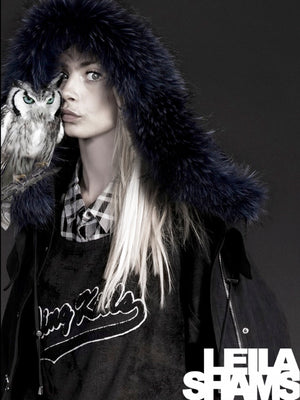 Cara Delevingne for Leila Shams
