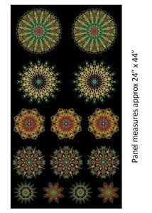 More is More ~ Medallions Panel - Bouledogue Quilt Co.