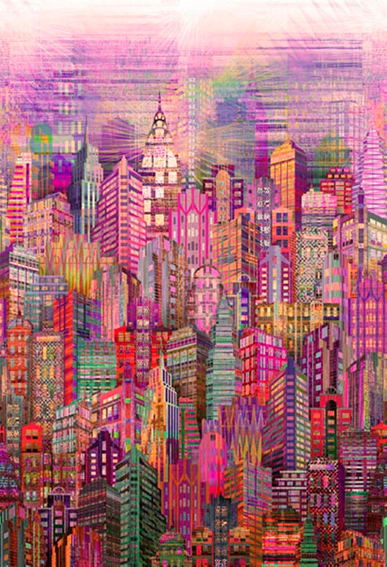 Skylines by Hoffman - Bouledogue Quilt Co.
