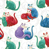 Cat-i-tude 2 PurrFect Together - Bouledogue Quilt Co.