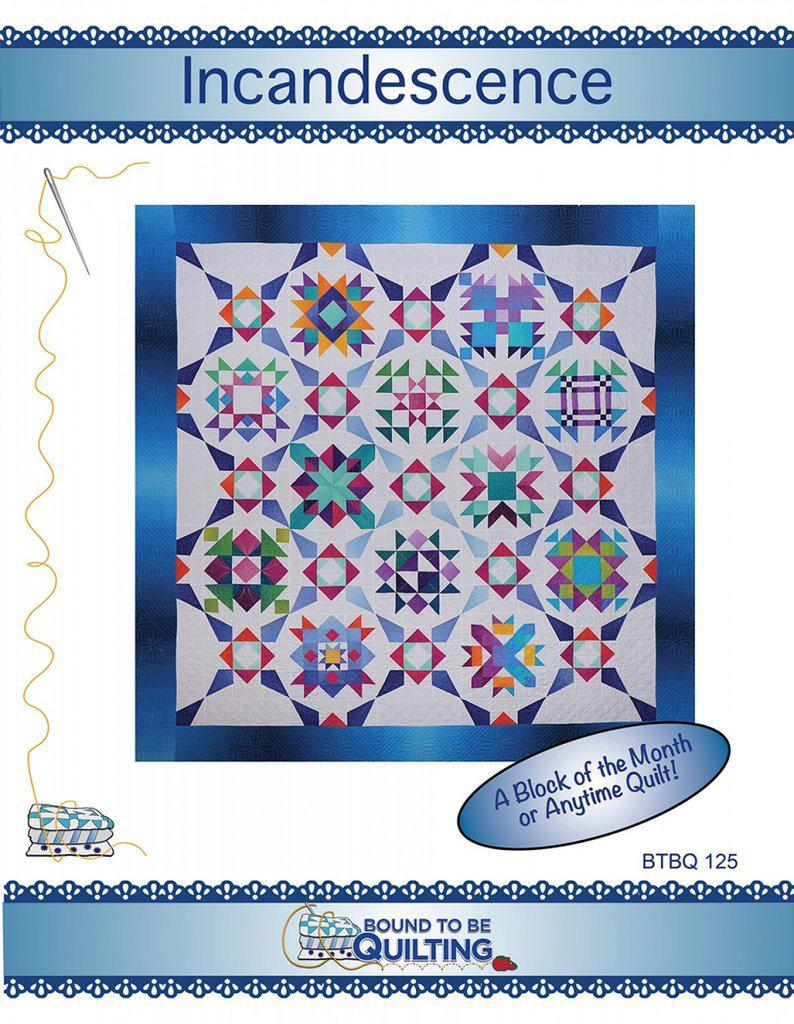 Incandescence (BOM) - Bouledogue Quilt Co.