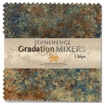 Stonehenge Gradations ~ Mixers - Bouledogue Quilt Co.