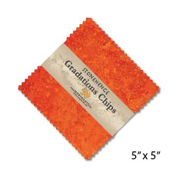 Gradations Chips ~ Sunglow - Bouledogue Quilt Co.