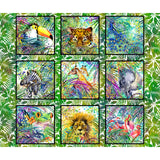 Safari ~ In The Beginning Fabrics - Bouledogue Quilt Co.
