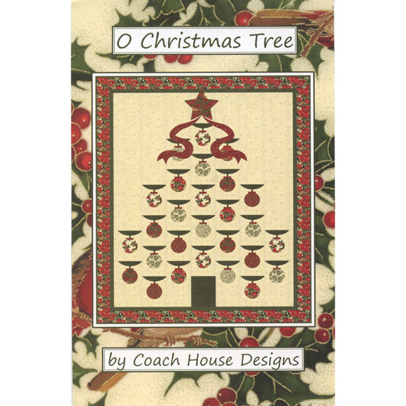 O Christmas Tree - Bouledogue Quilt Co.