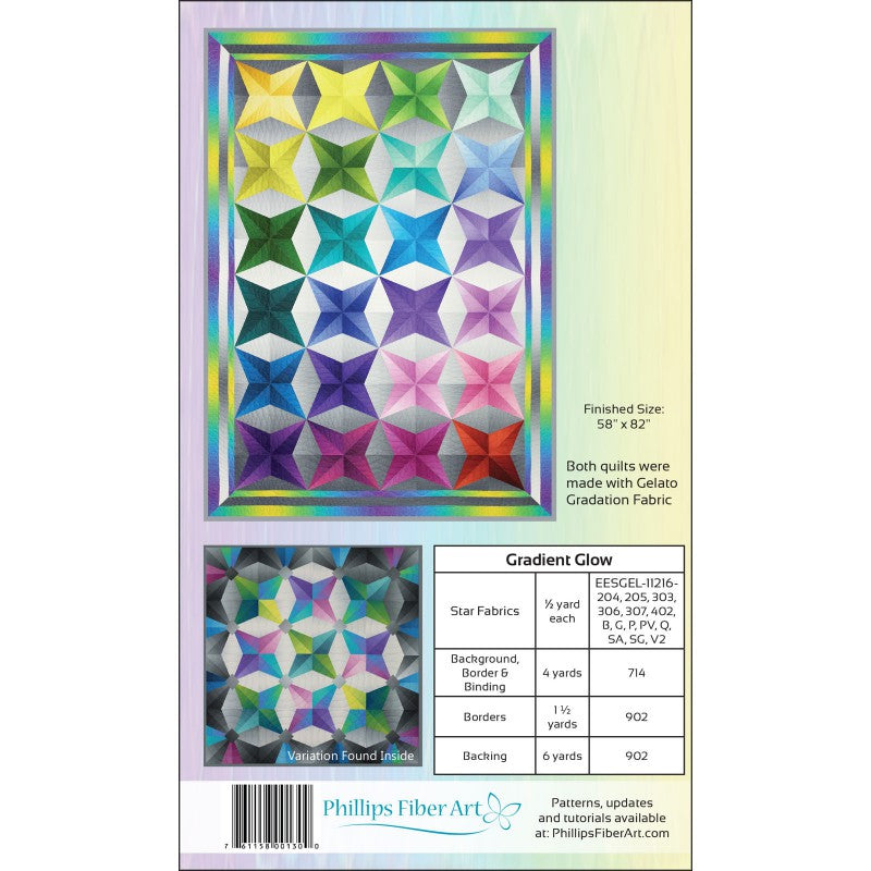 Gradient Glow - Bouledogue Quilt Co.