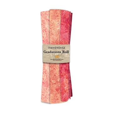 Gradations Fat Quarters ~ Hibiscus - Bouledogue Quilt Co.