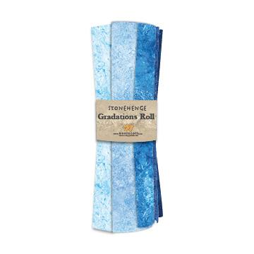 Gradations Fat Quarters ~ Indigo - Bouledogue Quilt Co.