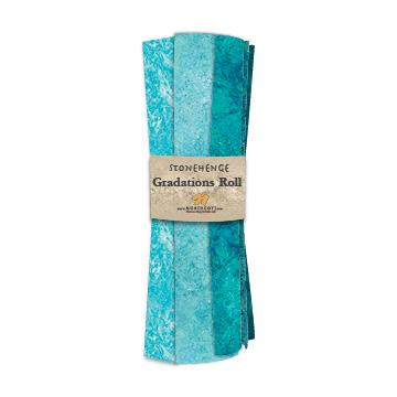 Gradations Fat Quarters ~ Lagoon - Bouledogue Quilt Co.