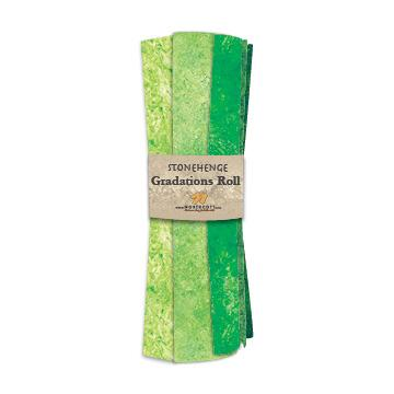 Gradations Fat Quarters ~ Rainforest - Bouledogue Quilt Co.