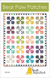 Bear Paw Patches - Bouledogue Quilt Co.