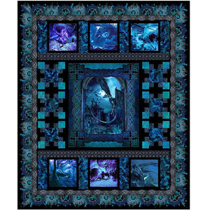 Dragons Quilt Kit by (PREORDER) - Bouledogue Quilt Co.