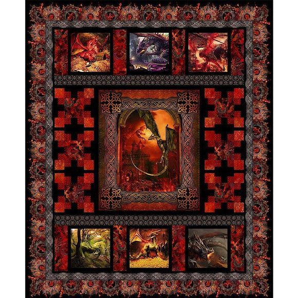 Dragons Quilt Kit - Bouledogue Quilt Co.
