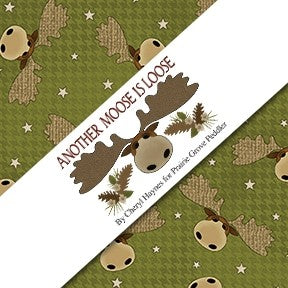 Another Moose is Loose by Cheryl Haynes - Bouledogue Quilt Co.