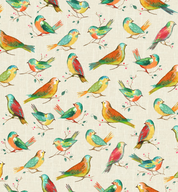 All A Twitter ~ Spring Birds - Bouledogue Quilt Co.